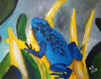 Dart Frog Watercolor
