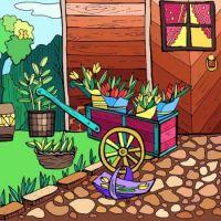 A Gardening Cart