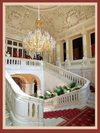 main staircase of the Yusupov palace, St Petersburg, Russia
