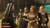 The Witcher 3 Wild Hunt - Geralt with royal ladies