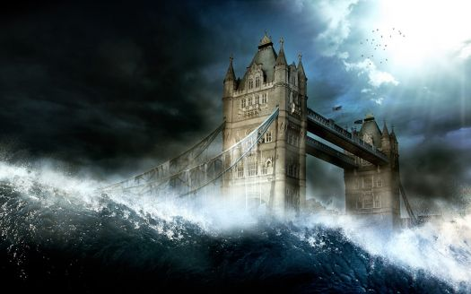 London Bridge Tsunami