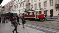 Praha,historická tramvaj