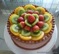 Mocha Vanilla Cake