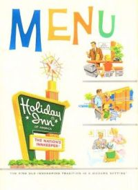 Themes Vintage ads - Holiday Inn Menu