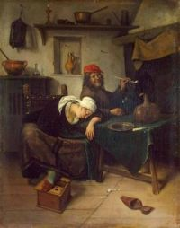 The Drinker ~ Jan Steen  (1626 - 1679)