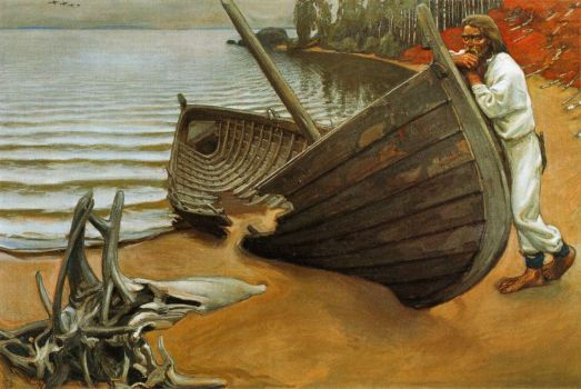 The Boat's Lament by Akseli Gallen-Kallela