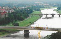 Elba River, Dresden, Germany.