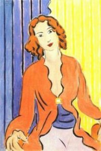 Lady seated figure in a Persian dress- Henri Matisse