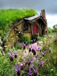 Maison Hobbit Rotorua, Nouvelle-Zélande