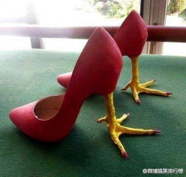 Chicken heels