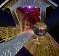 For Maureen, The Guelph Covered Bridge and Lensball