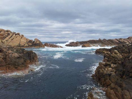 Sea and rocks