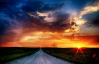 Sunset 062213