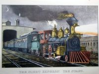 Currier & Ives:  The Night Express