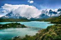 Beautiful Latin America Torres del Paine National Park, Chile