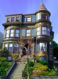 It's a long way to the top if you want a Victorian home
