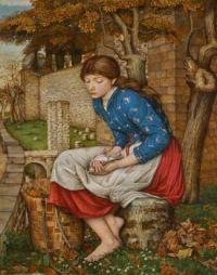 John Roddam Spencer Stanhope (British, 1829–1908), In Memoriam