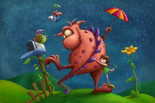 warm_feelings_on_a_rainy_day_by_tooshtoosh