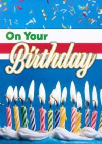 Birthday Candles For MacTea & MrsMike1