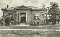 Park Rapids, Minnesota Public Library As Photographed In 1910