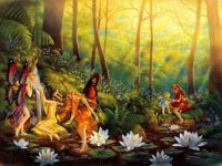 Fairies by the lily pond
