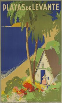 poster-playas-de-levante-spanish-beaches-travel-poster-1