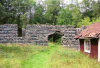 Slagstone ruin from Laxsjön, Sweden