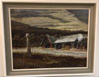 Original oil painting by Len Gibbs