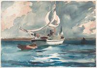Sloop, Nassau 1899  Winslow Homer