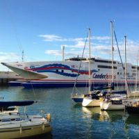 Condor in Weymouth Harbour