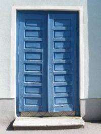 Za ljubitelje starih modrih plank - For fans of old blue wooden panels