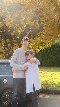 Tall Grandson