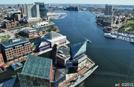 Inner Harbor Baltimore by Andy Dinh Photography