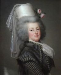 Marie-Antoinette-in-hunting-attire-1788