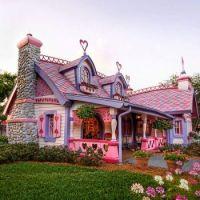 Isabella's Little Pink House, Orlando, USA