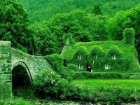 Fairytale cottages, England