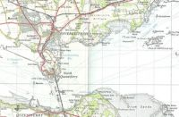 Forth Bridge and environs, 1957