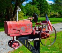 AE TRACTOR MAILBOX