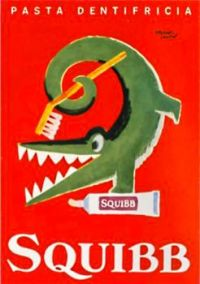 vintage Squibbs toothpaste ad