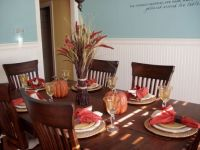 Simple Autumn Table Setting