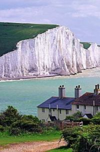Seven Sisters Cliffs -- East Sussex, England ...