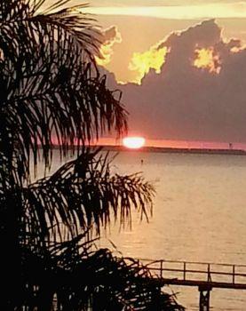 Sun Rise Over Lavaca Bay