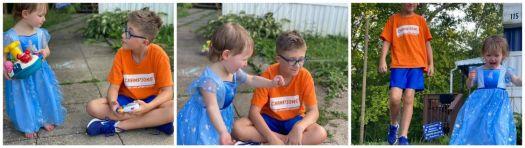 Joey & Maddie Playing Outside!