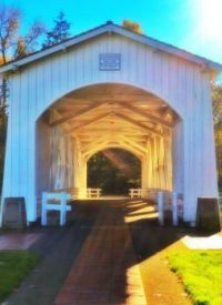 Covered Bridge near Stayton OR
