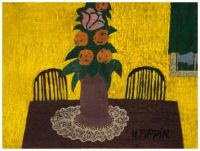 Floral Still Life ~ Horace Pippin