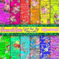 FLOWERY QUOTES (I Challenge You!!)