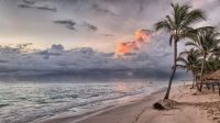 Ocean,sand and sea seascape