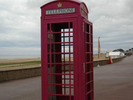 Phone Booth at Juno Beach