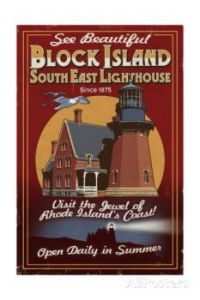lantern-press-block-island-rhode-island-lighthouse-vintage-sign