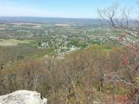 View of Pleasant Gap PA from Big Rock